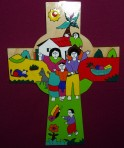 El Salvador Cross with Family