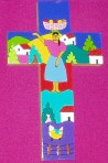 El Salvador Folk Art Cross