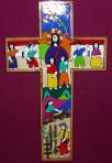 El Salvador Jesus With Children Cross