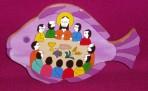 El Salvador Last Supper on Fish