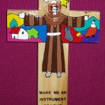 El Salvador Saint Francis Cross