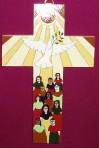 El Salvador Sun, Dove and Spirit Cross