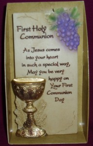 First Holy Communion Standing Plaque