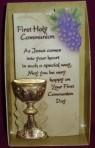 Art in Stone Communion Plaque