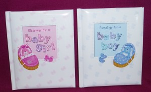Blessings for a Baby Boy or Girl. A delightful gift for the young child, with simple prayers of praise and thanks.
