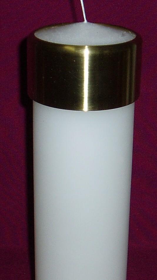 diy candle wax catcher. Brass Candle Saver  Australian Made Candles Southern Cross Church Supplies