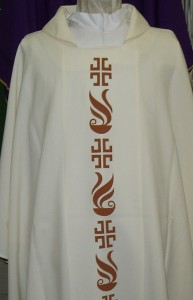 Canadian Chasuble, available in the 4 seasonal colours.