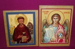 Icon Images on Wood