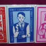 Linocut Print Cards