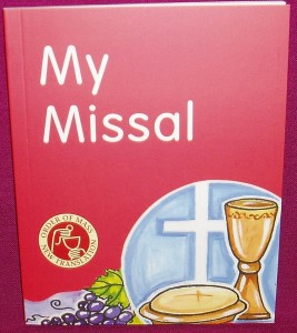My Missal. A book for young people containing the new wording for the Mass.