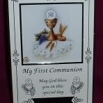PLC18: First Communion Photo Frame