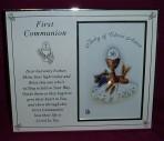 PLC23: First Communion Photo Frame