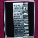 Metal Communion Plaque