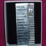 Metal Communion Plaque