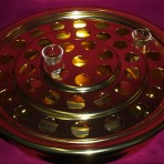 Brasstone Communion Tray