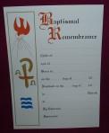 SC01: Baptism Certificate