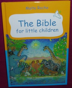 The Bible for Little Children. A beautifully illustrated book of bible stories