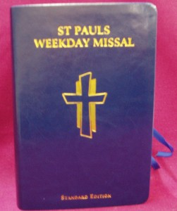 St Paul's Weekday Missal, containing all the readings and prayers for the weekday Masses of the Church's 2 year liturgical cycle.