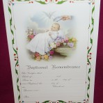 CEB1280: Baptism Certificate
