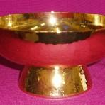 CW2791G: Gold Paten Ciborium