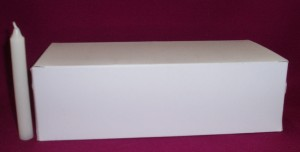 Four Inch Votive Candles, suitable for use in churches, and also for some Christmas decorations.