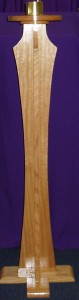 Wooden Paschal Candle Stand. Handcrafted in Melbourne.