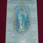 Praying the Rosary Leaflet