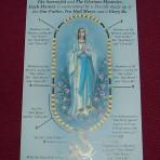 Praying the Rosary Leaflet