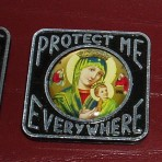 """Protect Me Everywhere"" Magnets"