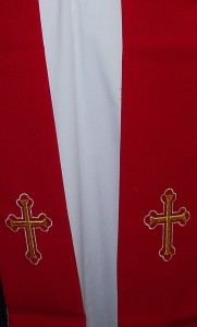 Clerical Stole, available in the 4 seasonal colours.
