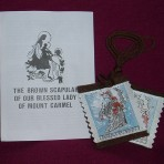 Tapestry Brown Scapular