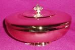 Gold Paten Ciborium with lid
