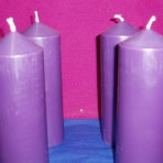 Advent Candle Set: Style 2