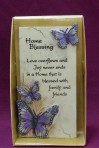 Art in Stone: Home Blessing Plaque