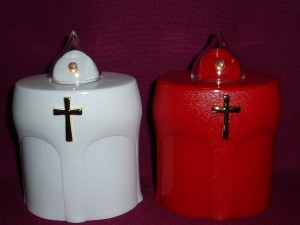 LED battery candle that burns for 300 days; suitable as a gravelight or a devotional candle