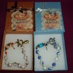 Porcelain Rosary Bracelet
