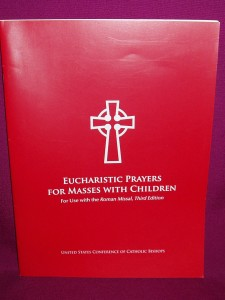 Eucharistic Prayers for Masses with Children, available in hardback and paperback