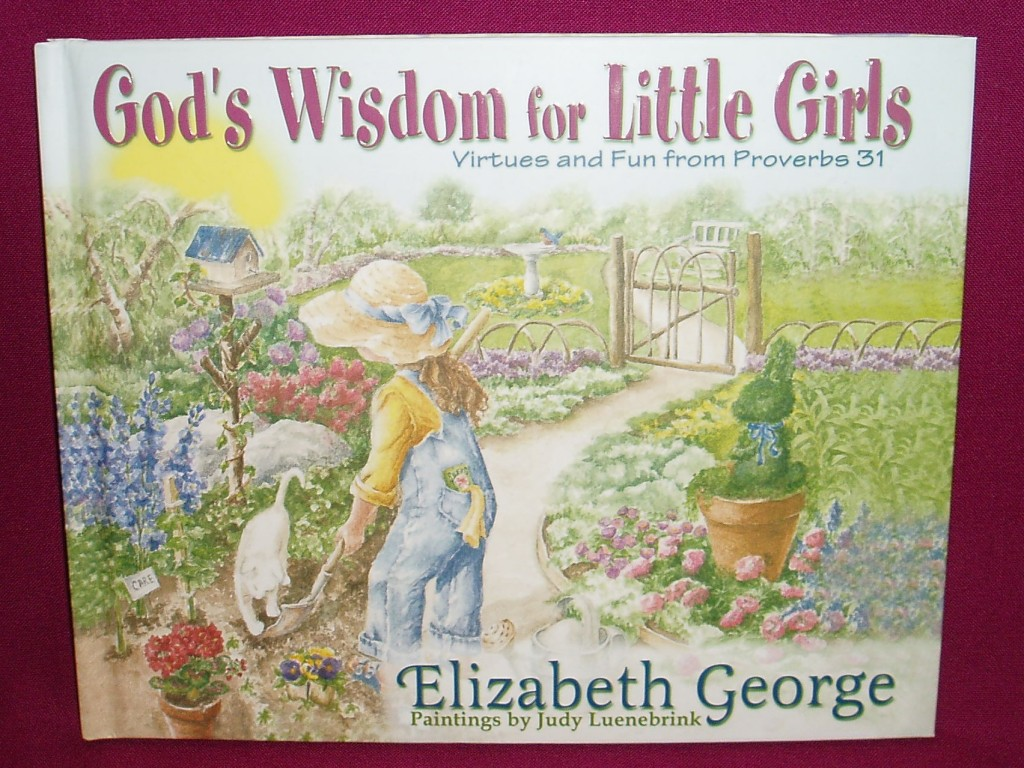 God's Wisdom for Little Girls : Virtues and Fun from Proverbs 31 by Elizabeth...