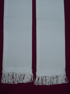 Plain stole, for baptism, Holy Communion and Confirmation