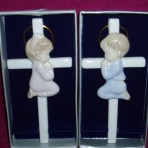 Porcelain Baby Cross