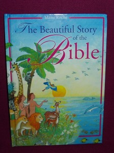 A book of bible stories, richly illustrated, for children to the age of 9