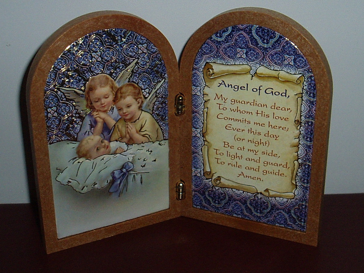Guardian Angel Plaque | Southern Cross Church Supplies