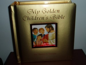 My Golden Children's Bible; a board book for younger children