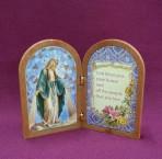 Folding Religious Plaques