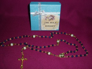 Hand made rosaries of exceptional quality