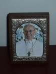 Pope Francis Standing Plaque