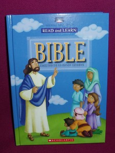 Read and Learn Bible, with parent guide pages