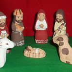 Peruvian Ceramic Nativity