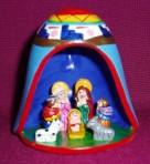 Nativity in a Bell