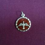 METR: Red Enamel Confirmation Medal